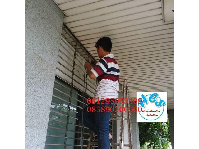 biaya service rolling door murah jakarta pulogadung kelapagading sunter tebet cakung