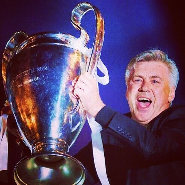 Carlo ANCELOTTI: Italy is so proud of you Orgoglio italiano  #ancelotti #orgoglioitaliano #championsleague #ucl #champions #realmadrid #real #halamadrid #winner