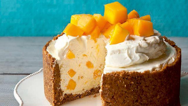 No-Bake White Chocolate Mango Cheesecake Recipe | Recipe | yummy.ph