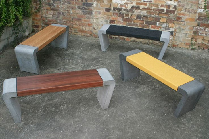 A Gang of POPconcrete Istu bench seats!