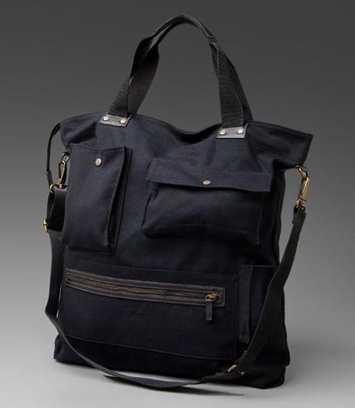 duffle bag sewing pattern | Multi-Pocket Urban Tote – Free Pattern & Tutorial | PatternPile.com