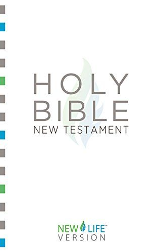 """Holy Bible - New Testament: New Life VersionTM (New Life Bible) by Barbour Bibles http://www.amazon.com/dp/B00OVK8070/ref=cm_sw_r_pi_dp_0th-vb0AJQEBW - This unique scripture version, originally designed to reach people who did not speak English as their native language, uses a limited vocabulary of 850 words to simply and clearly share God's truth. For example, the term """"justified"""" is rendered """"made right with God,"""" and """"blaspheme"""" is rendered """"speak against God.""""  Ideal for seekers, new…"""