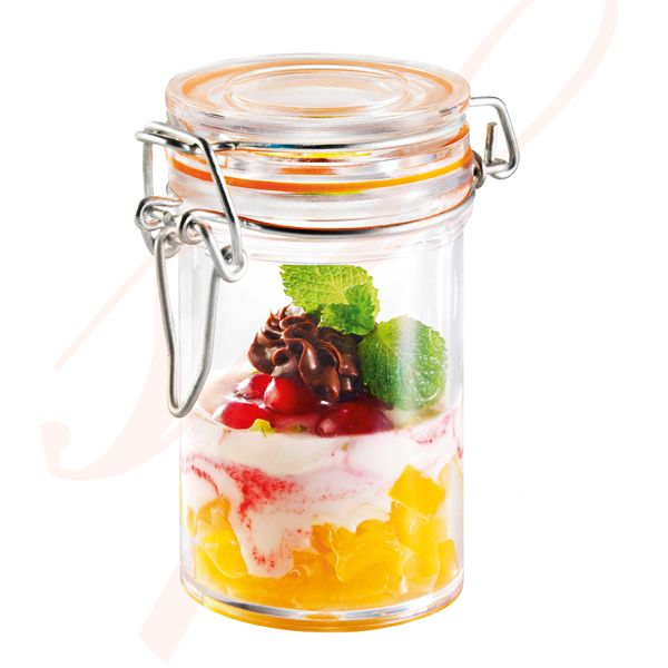 Mini Plastic Jar 2.5 oz.