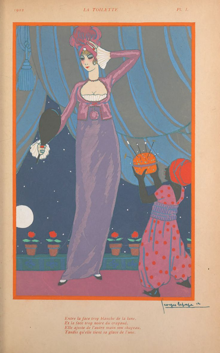 Georges Lepape fashion design from 1913. Divine!