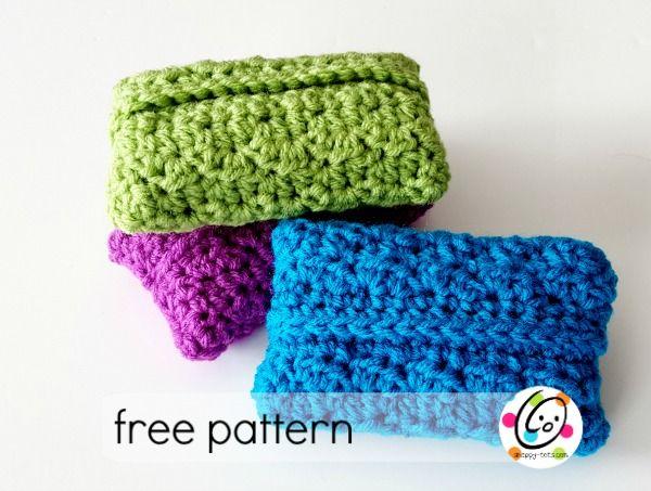 Free Knitting Pattern For Tissue Holder : 1000+ ideas about Tissue Holders on Pinterest Tissue Box ...