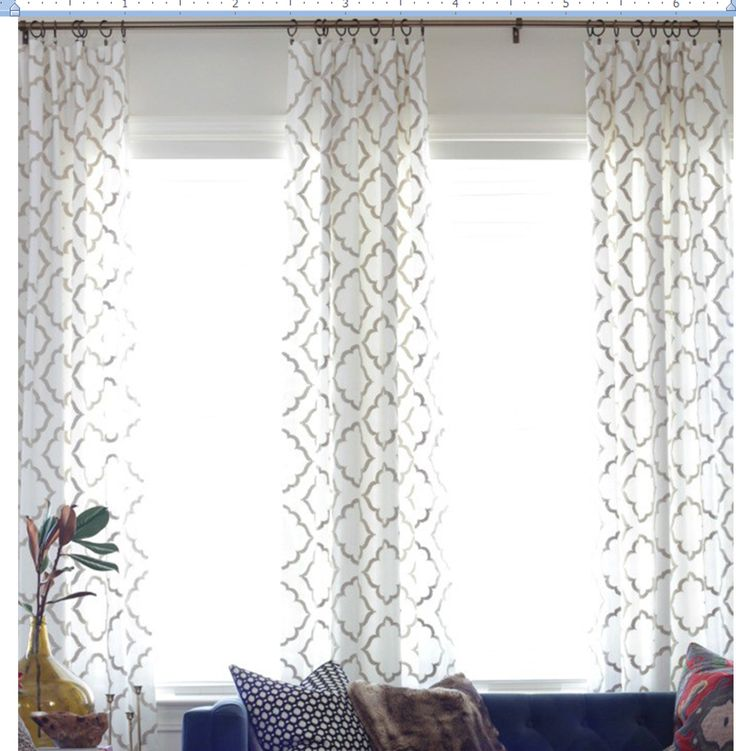 Hobby Lobby fabric idea for curtains