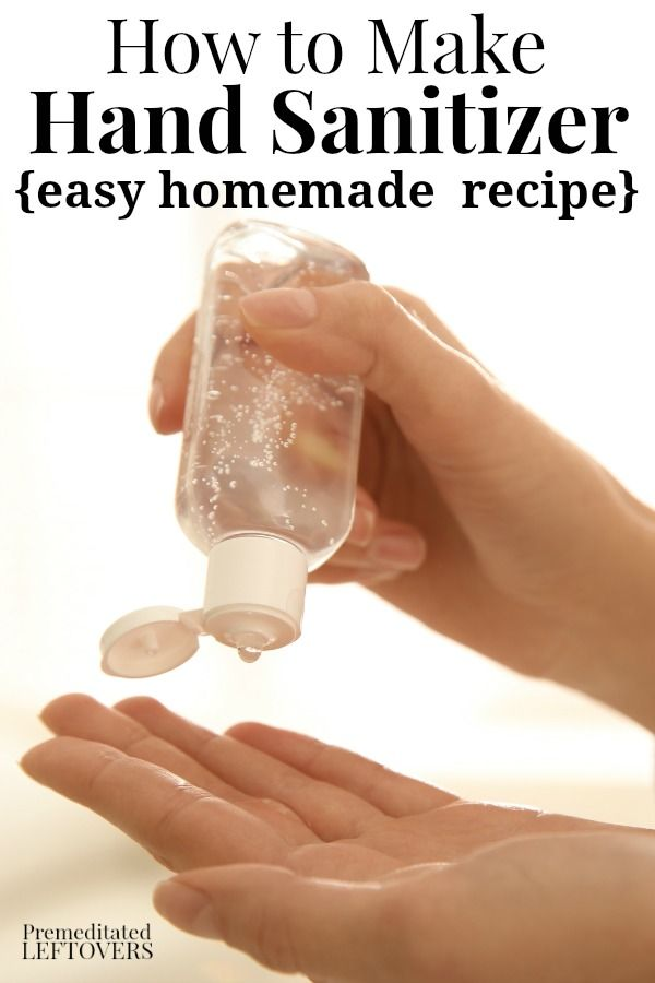 Make A Gentler Hand Sanitizer By Using Aloe Vera Gel As The Base