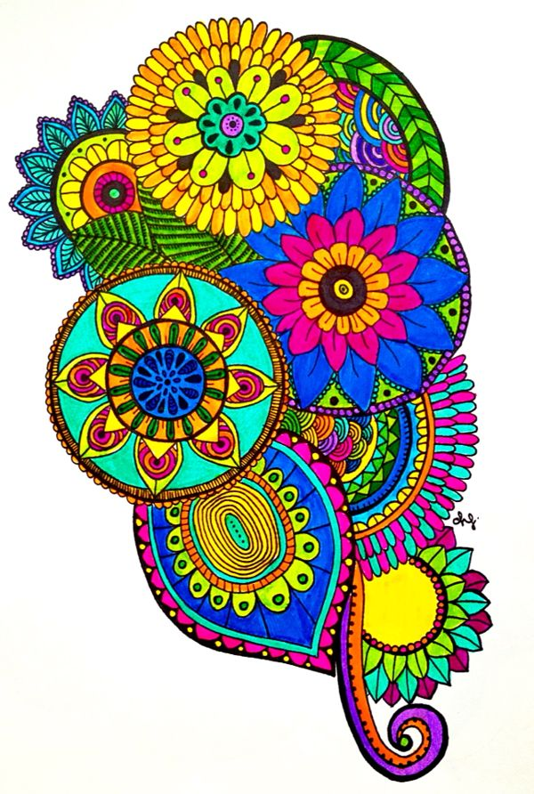 Zentangle Art Daniela Hoyos Art