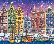 Elio Nava, Amsterdam sotto la neve
