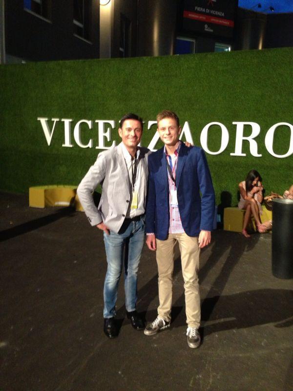 Segundo día en Vicenza José Sangil e hijo, José Sangil Junior