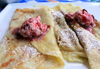 Swedish Pancakes with Lingonberry Butter