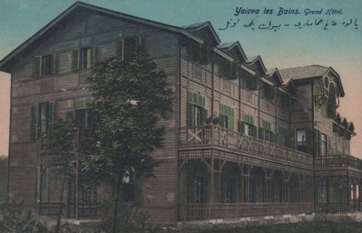 [Ottoman Empire] Thermal Hotel in Yalova, 1900's (Osmanlı Dönemi Yalova'da Termal Otel, 1900'ler)