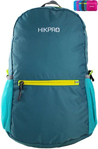 #1 Rated Ultralight Packable Travel Backpack Daypack + Most Durable Lightweight Hiking Backpacks for Men and Women / THE BEST Foldable Camping Biking School Travelling Carry on Backpacking + Ultra Light and Handy - 6.5 OZ Only + 5 Year Warranty! HIKPRO http://www.amazon.com/dp/B00KX0B5ME/ref=cm_sw_r_pi_dp_OCAEvb10YCWX1