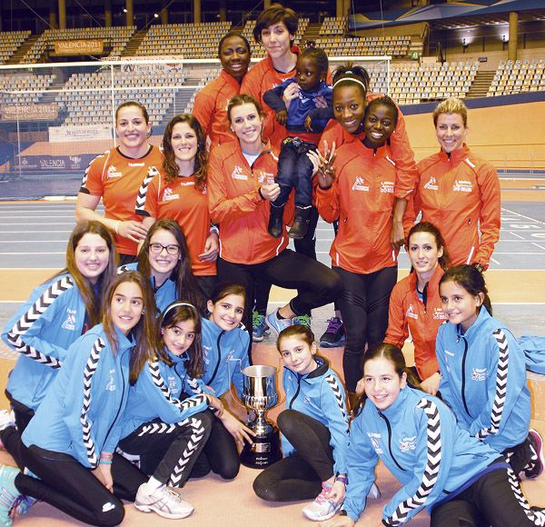 El València Terra i Mar de atletismo se proclama campeón de la Copa de La Reina