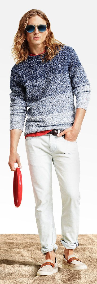 38 best Chompas y accesorios tejidos para varón images on Pinterest ...