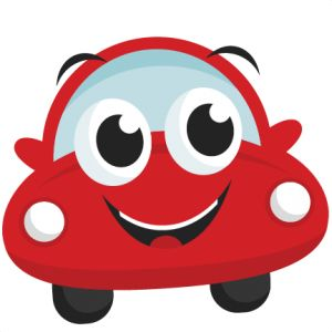 Happy car SVG freebie for the day