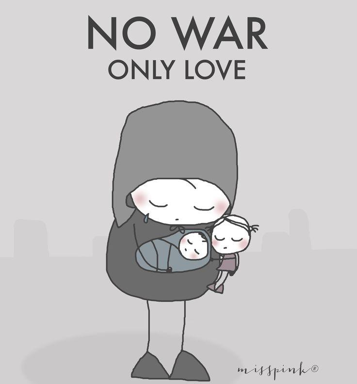 NO WAR. By misspink® www.misspink-misspink.blogspot.com