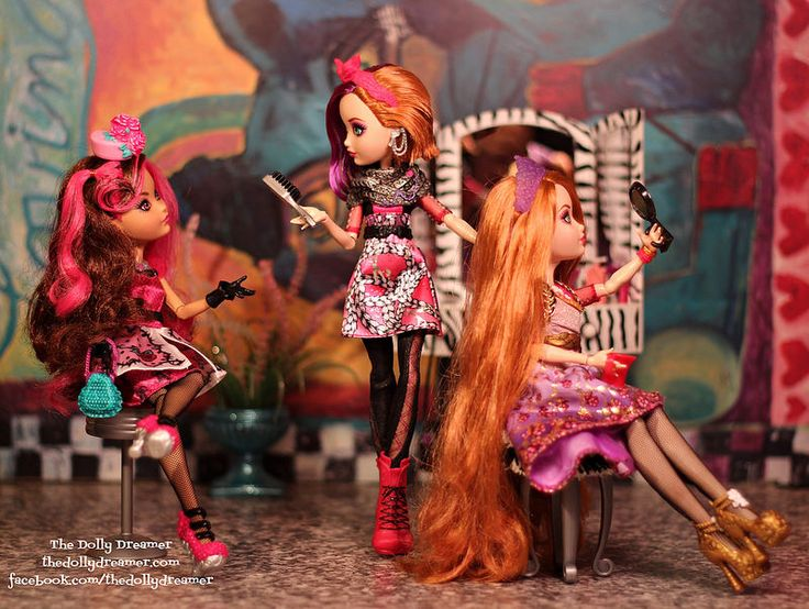 Ever After High Poppy, Holly and Briar by Bridget / TheDollyDreamer
