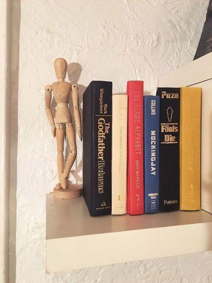 secret storage book box, repurposing upcycling, shelving ideas, storage ideas