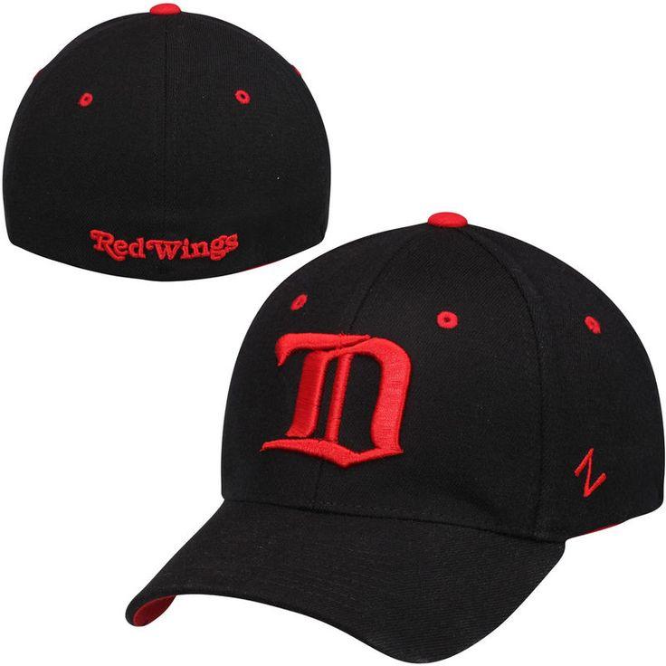 Detroit Red Wings Zephyr Breakaway Alternate Logo Flex Hat – Black