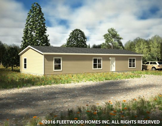 Carriage manor ii 28603c fleetwood homes fleetwood homes for Classic manor builders cabins