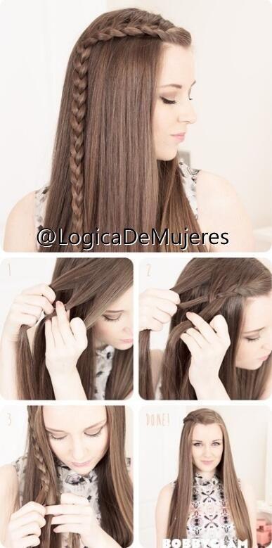 Un peinado muy fácil de hacer