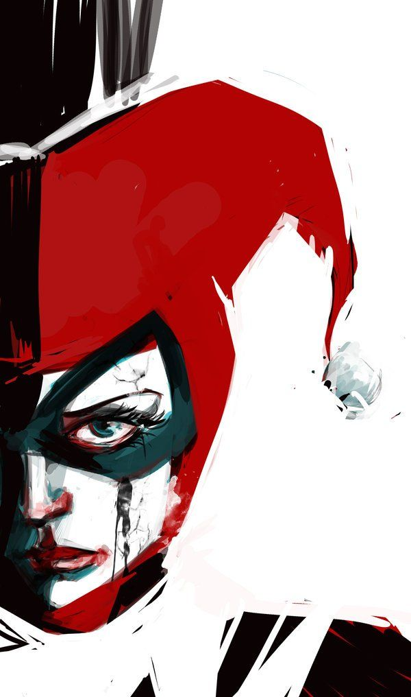 50 Most insanely awesome Harley Quinn fan art