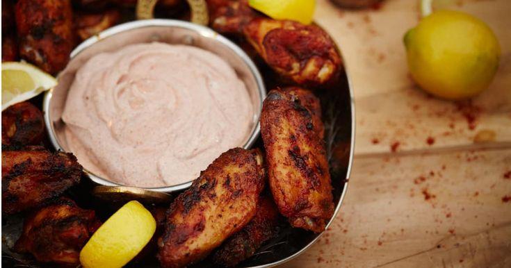 Une délicieuse recette d'ailes de poulet de Marrakech présentée par foodlavie.