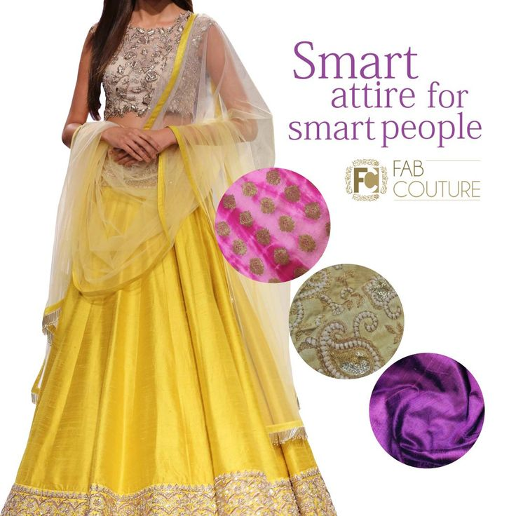 Smart attire for smart people! only at #FabCouture! #DesignerFabric at #AffordablePrices.  Buy your stock of fabric from: https://fabcouture.in/catalogsearch/result/?q=raw+silk #RawSilk #DesignerDresses #Fabric #Fashion #DesignerWear #ModernWomen #DesiLook #Embroidered #WeddingFashion #EthnicAttire #WesternLook #affordablefashion #GreatDesignsStartwithGreatFabrics #LightnBrightColors #StandApartfromtheCrowd #EmbroideredFabrics