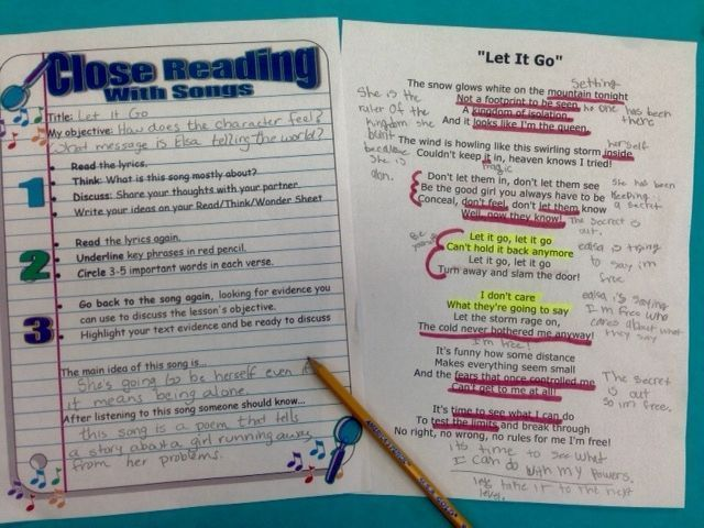 Use Popular Music to Improve Reading and Inspire Writing. Over the years, I've discovered that one way to engage almost every student, even those who are reluctant readers and writers, is through song. This week I'll share with you some of the ways I use music to inspire, motivate, and teach reading and writing (along with life skills!) in my classroom.