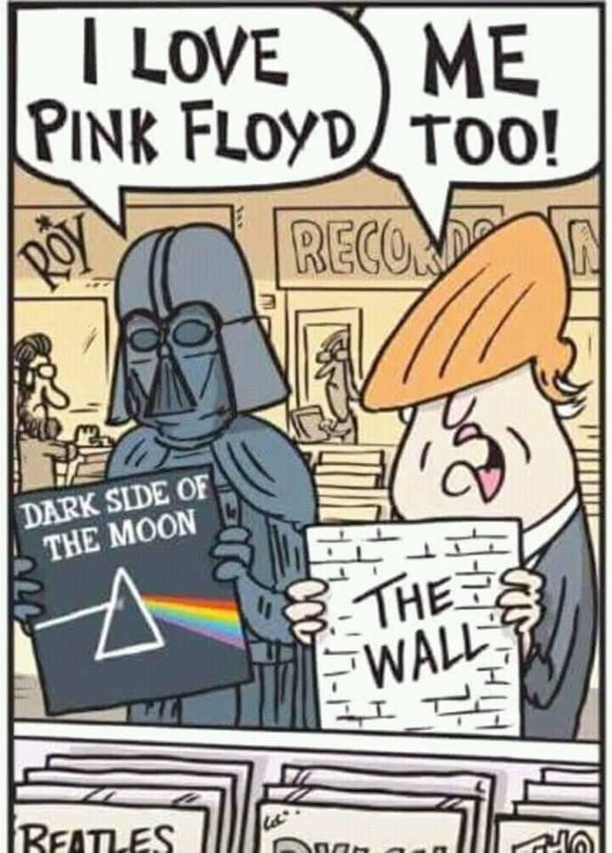 Pin By Gj Berkhof On Art New Funny Memes Star Wars Humor Pink Floyd Art