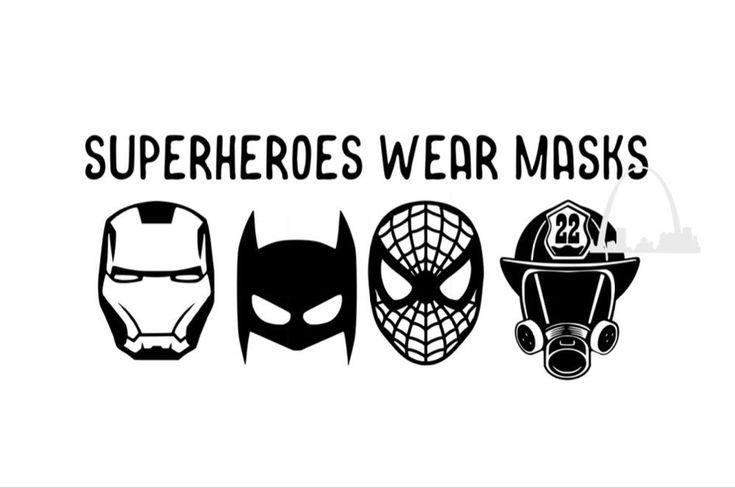 Superhero Fireman Heroes svg cut file png jpeg Funny ...