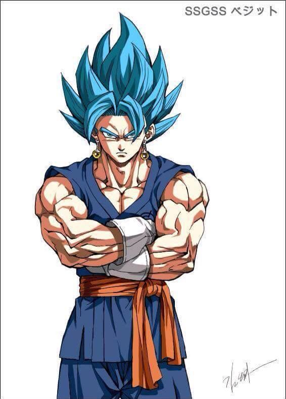 The person I pinned this from said this was Goku and I was like...no bitch its VEGITO