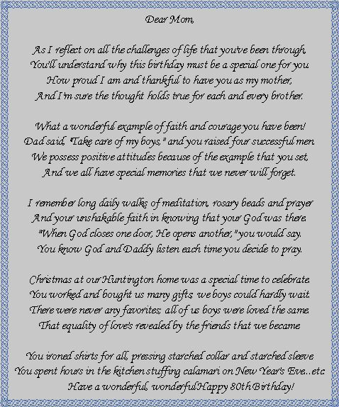 Birthday poems for dad: wish your father a happy birthday with a short rhyme that reminds him of all the wonderful memories and funny moments he has shared with his. Description from mellenks.tk. I searched for this on bing.com/images