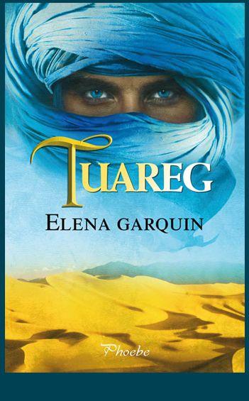 Diseño e ilustración que he realizado para la cubierta de la novela Tuareg de Elena Garquin editada en octubre de 2014 por Ediciones Pàmies