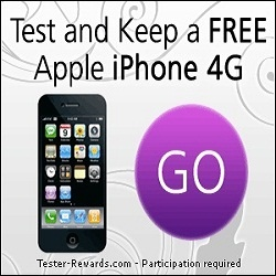 Tester needed, test and keep Aple iPhone 4 for FREE
