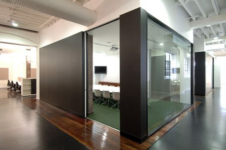 Nice partitions & glazing