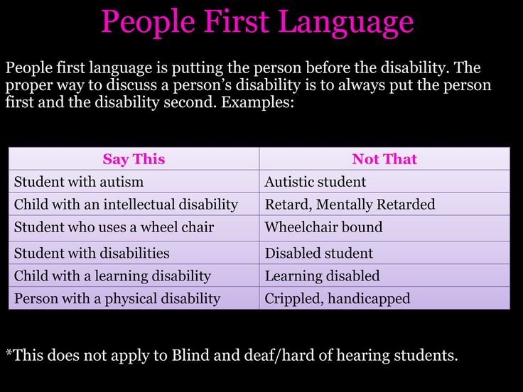 People First Language - FREE Disability Awareness PowerPoint.