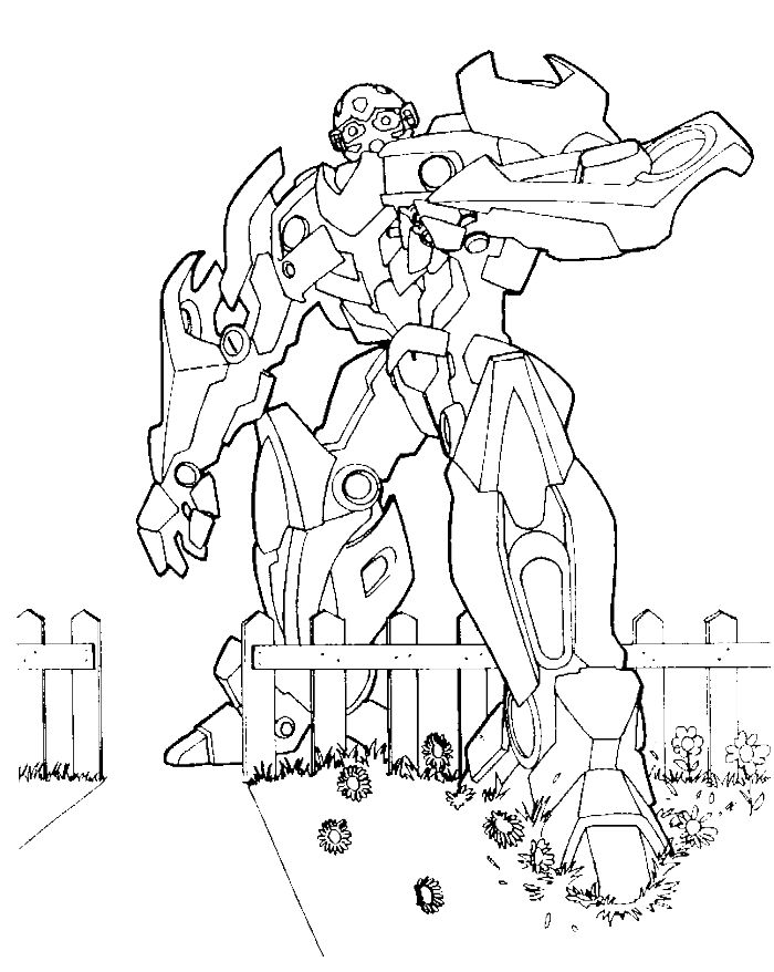 free online transformer coloring pages - photo#20