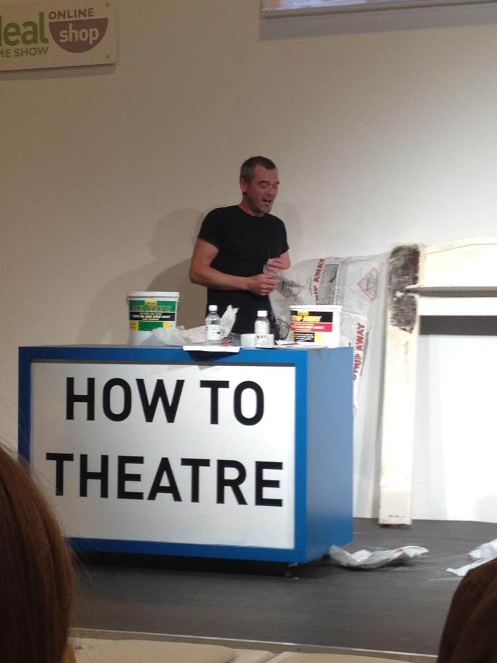 DIY Donny giving some tips at the Ideal Home Show Scotland 2012
