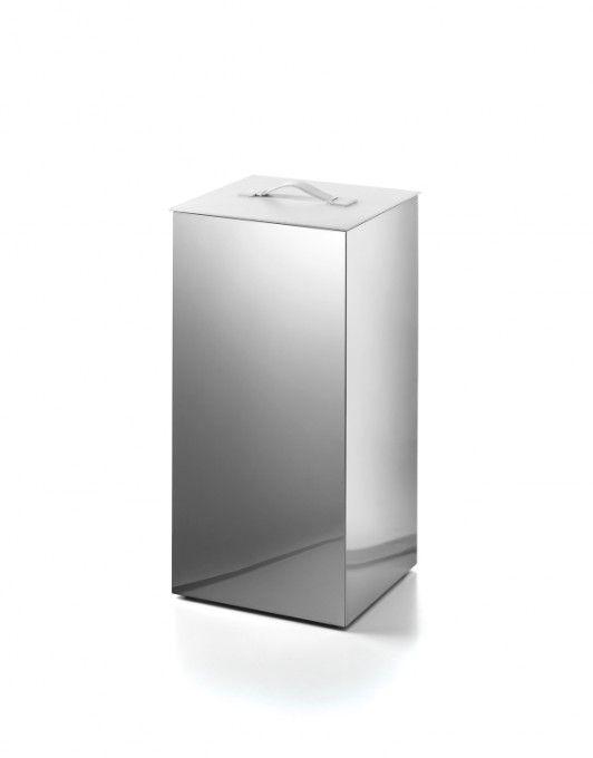#Lineabeta #Secioni #Wäschebehälter 53432.29.09 | #Modern #Edelstahl | im Angebot auf #bad39.de 260 Euro/Stk. | #Italien #Bad #Accessoires #Badezimmer #Einrichtung #Ideen #Gadgets