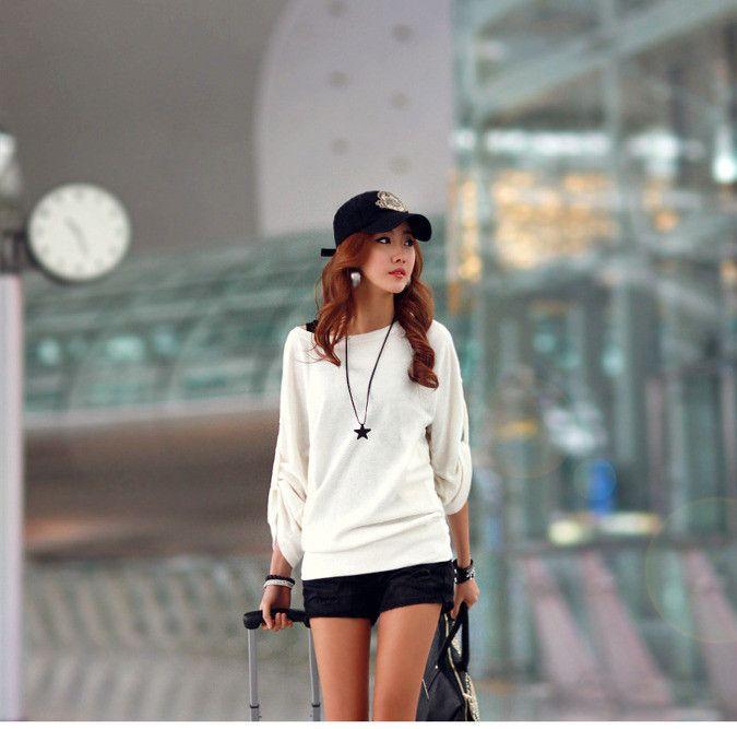 Sweter 5265 krem | Odzież damska Odzież damska \ bluzki WYPRZEDAŻ Odzież damska \ bluzki
