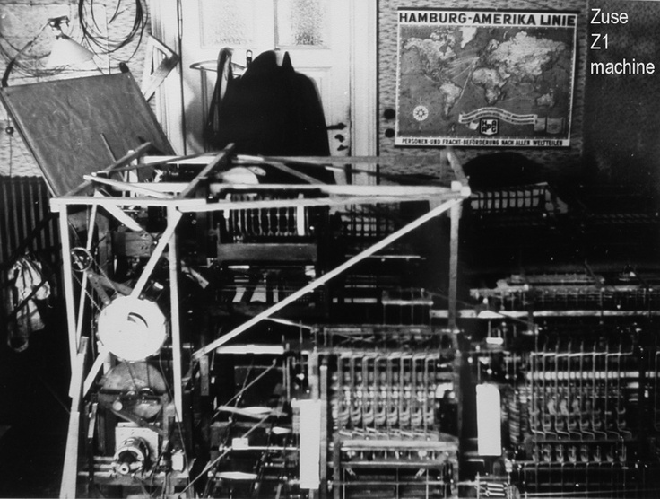 The first computer, the Z1 computer Computer history
