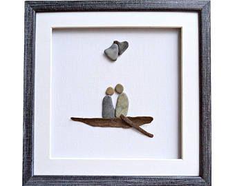 Matrimonio o fidanzamento regalo per coppia spiaggia