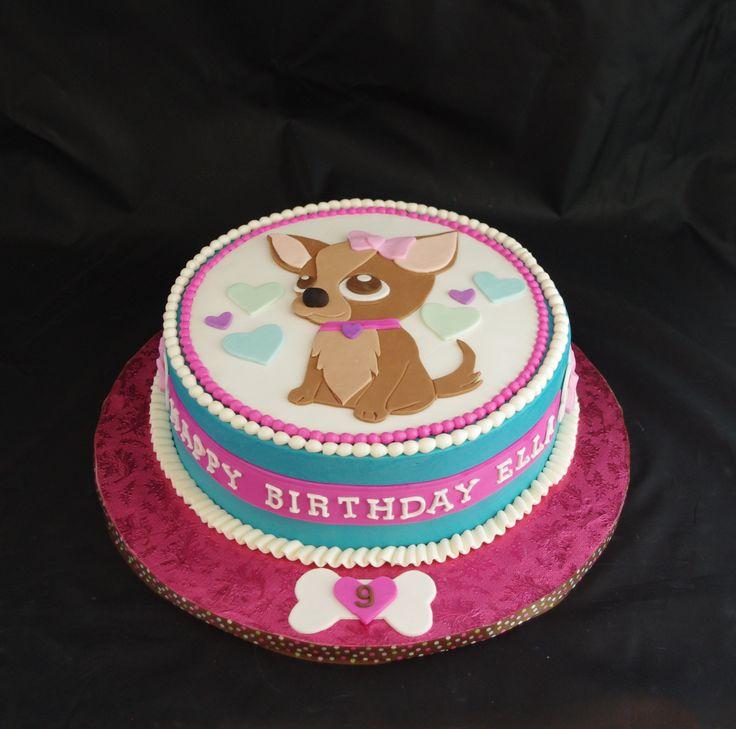 Chihuahua Cake My Favorite Daisy Cakes Pinterest