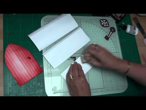 Fun Card with Spellbinders - Door Card (card-making-magic.com)