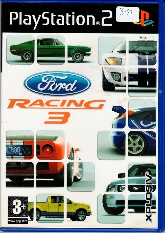 Ford Racing 3 Racing Race 3 Playstation Games