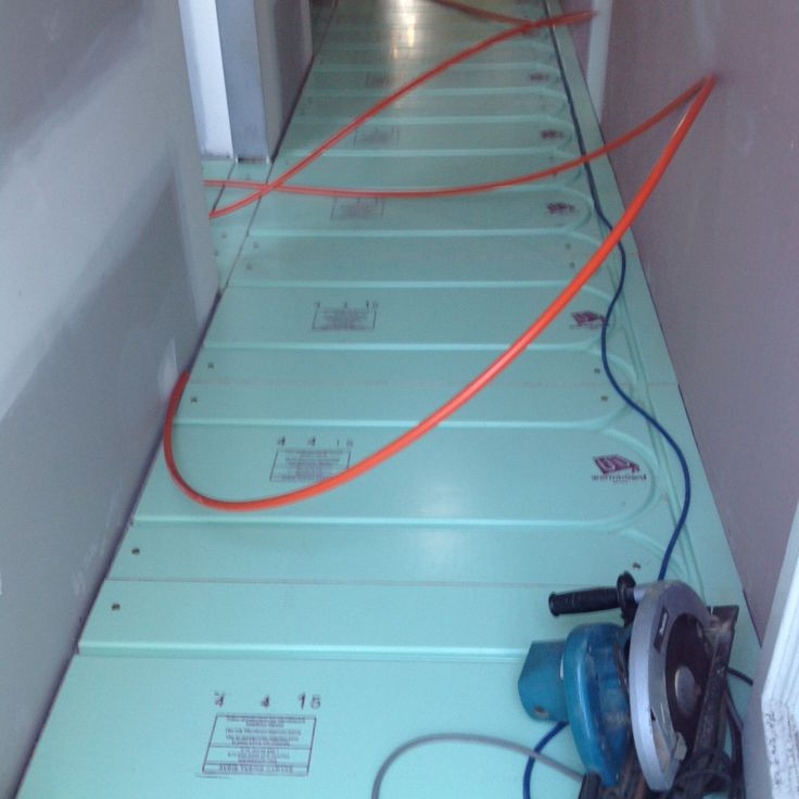 The Tradies Have Been Working At Albert Park Melbourne Installing A New Hydronic Underfloor Heating Product
