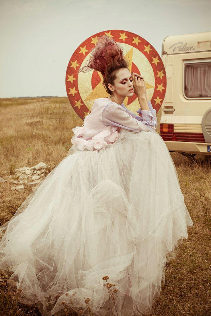 Kleofia pink lace - All Hollow Magazine Fashion Editorial Concept Cosmin Florea Diana Ionescu Photography Oltin Dogaru