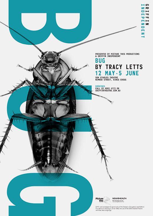 Griffin Theatre Company - Chris Maclean @Alicia Gasseling Leisy Poster @Sara Kaltenbach GmbH Aussenwerbung
